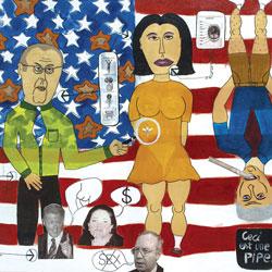 The Monica Lewinsky's affair