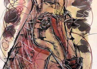 Old horse (Caballo viejo)