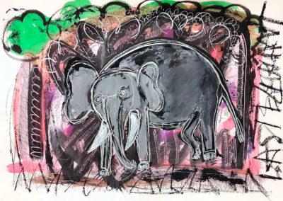 The last elephant