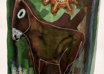 L'âne mexicain