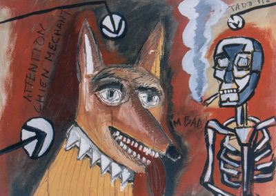 The evil dog